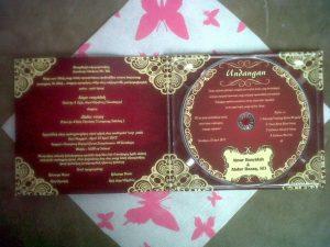 undangan pernikahan unik berbentuk cd