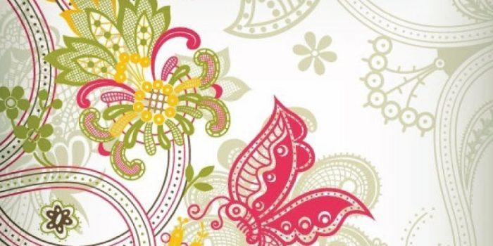 batik background undangan
