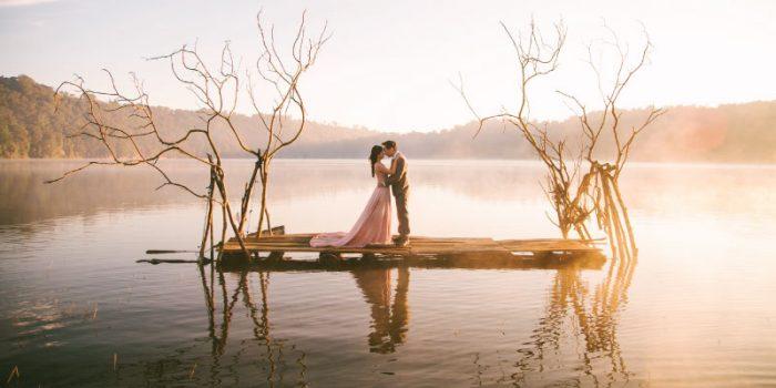 tempat photo prewedding nan romantis