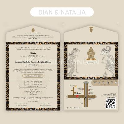 template undangan pernikahan cdr gratis