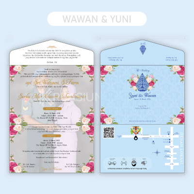 template desain undangan bentuk amplop