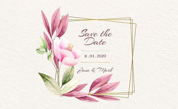concept-cadre-floral-mariage