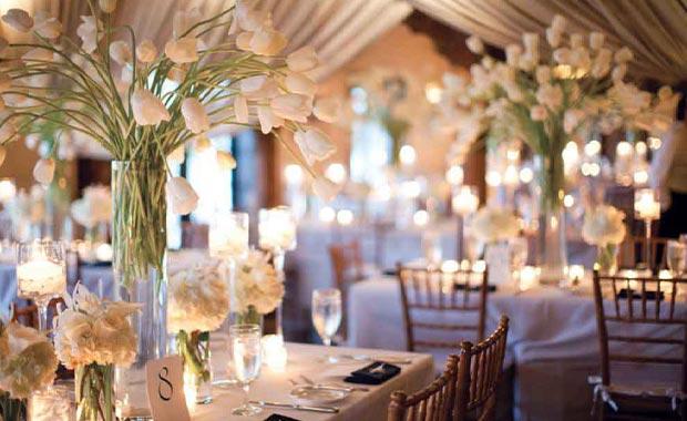 dekorasi pernikahan yang indah