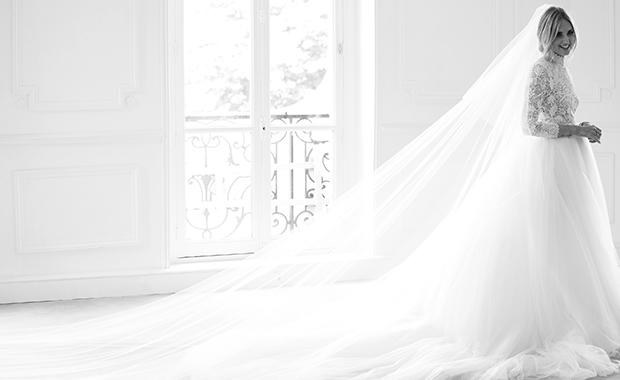 gaun pengantin indah dan elegan