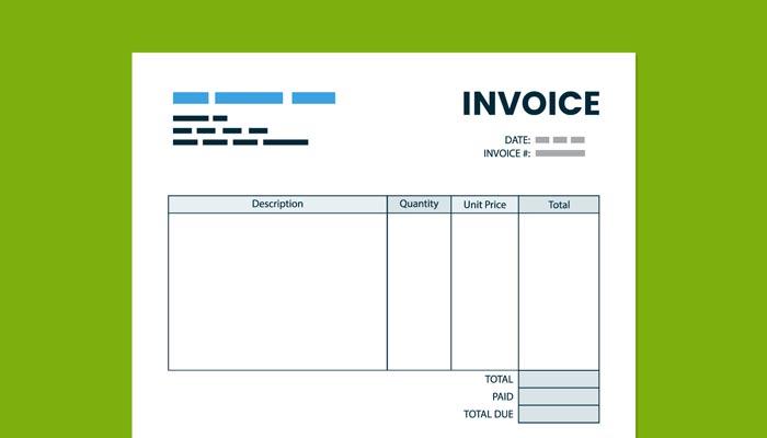invoice adalah contoh produk percetakan