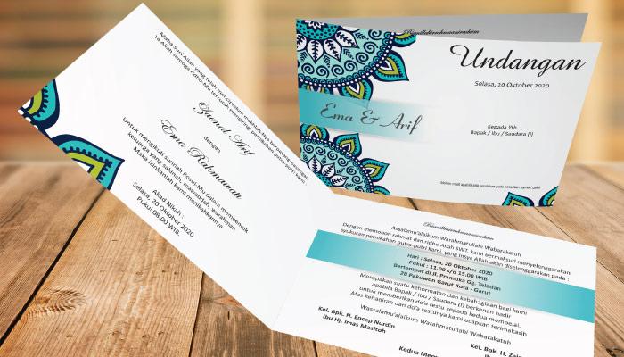 jenis kertas undangan BC