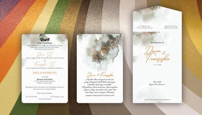 jenis kertas populer untuk undangan