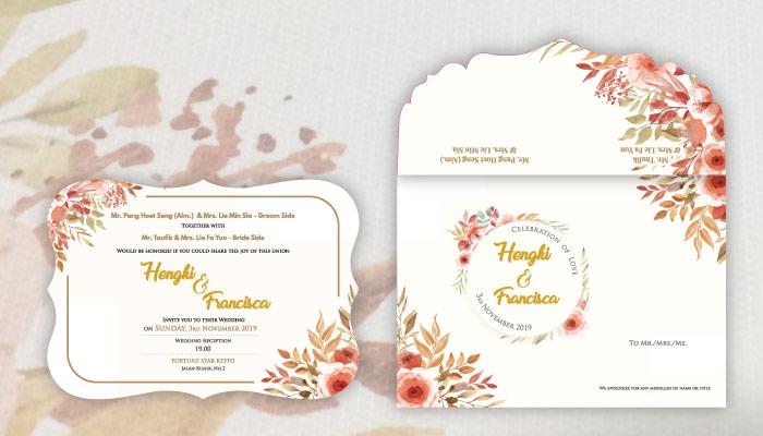 jenis kertas undangan pernikahan elegan