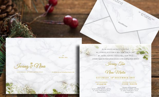 tentukan tema undangan pernikahan