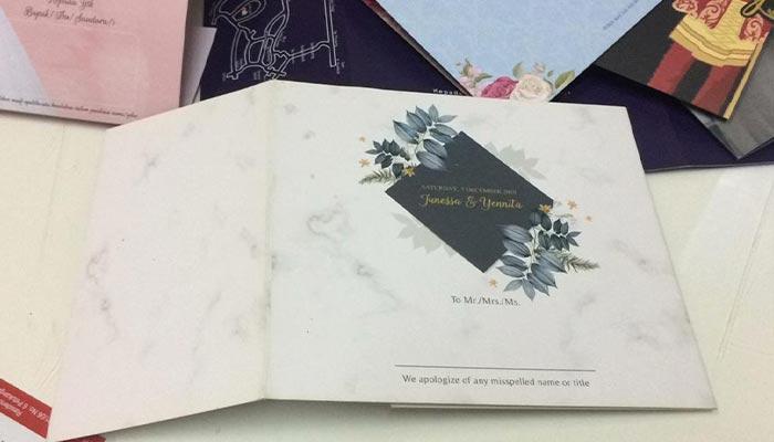 tempat cetak undangan pernikahan di Jakarta selatan