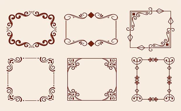 vintage-ornamental-frame-collection