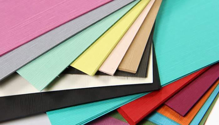 warna kertas linen
