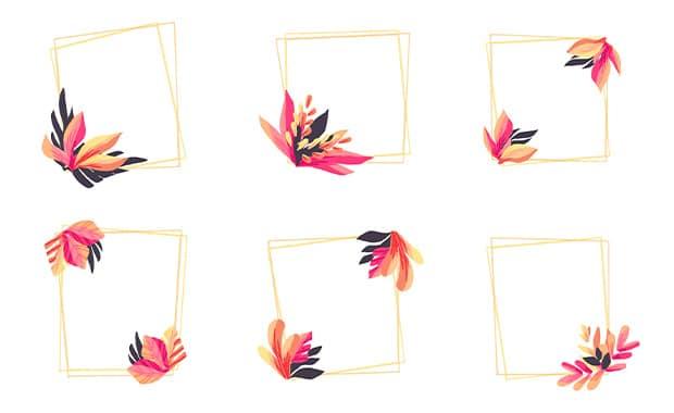 watercolor-wedding-frame-logos